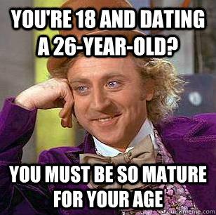 26 dating 18