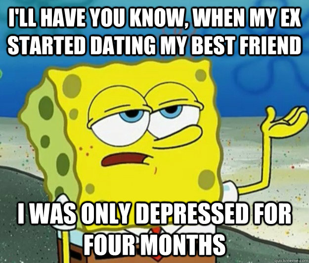 when your best friends start dating