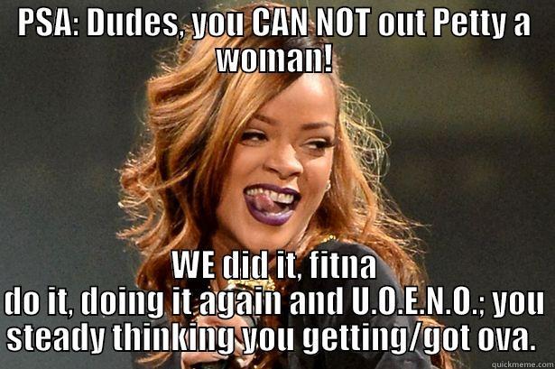Petty Women Quickmeme