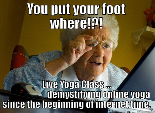 Online Yoga Struggles Quickmeme