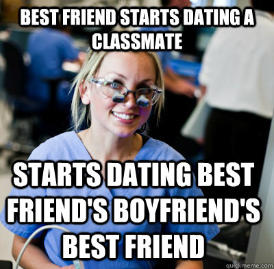 best friend started dating