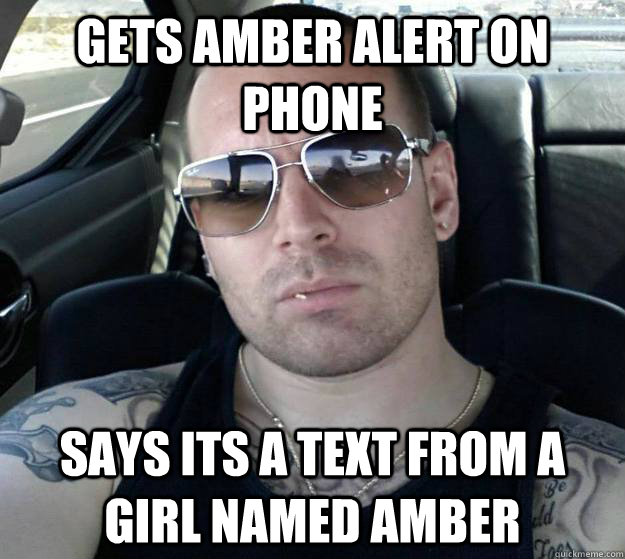 Gets Amber Alert On Phone Says Its A Text From A Girl Named Amber