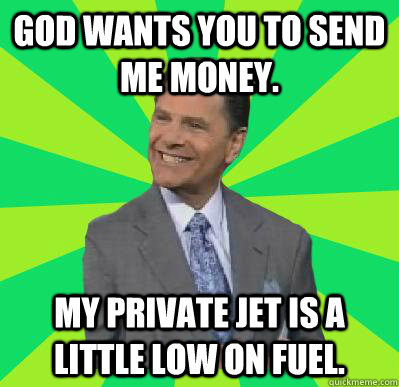 Send Me Money My Private Jet Is A