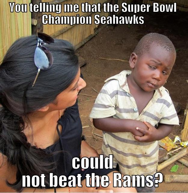 Rams Vs Seahawks Week 7 Quickmeme